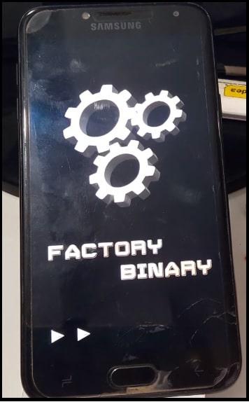 Samsung galaxy factory mode