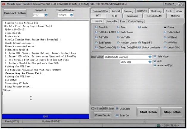 vivo y17 pattern unlock miracle tool