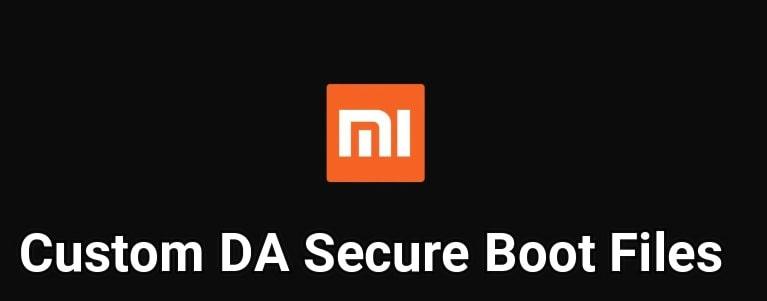 MTK Xiaomi DA File Download