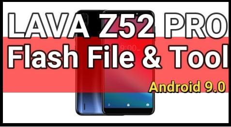 Lava Z52 Pro Flash File