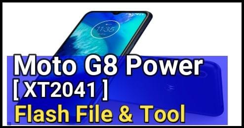 Moto G8 Power Stock ROM