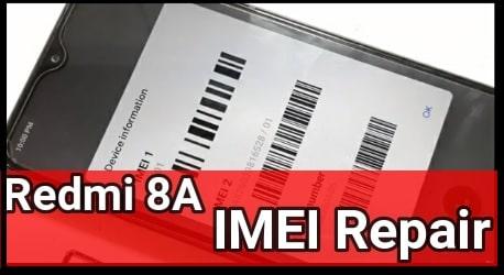 Redmi 8A Imei Repair