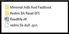 redmi 8a IMEI repairing files