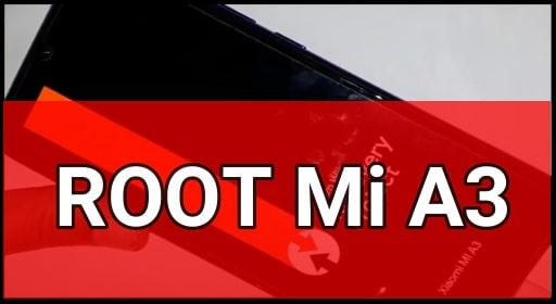 Root Mi A3 Android Q