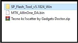 tecno spark go frp bypass file