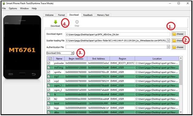 tecno spark go kc1 firmware flashing sp flash tool