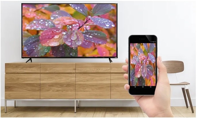 Cast Spectrum TV from Android to Vizio TV