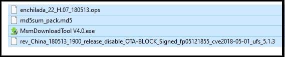 oneplus 6 stock rom msm download tool