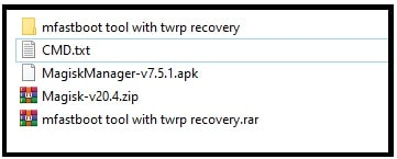 redmi 8a twrp and root files
