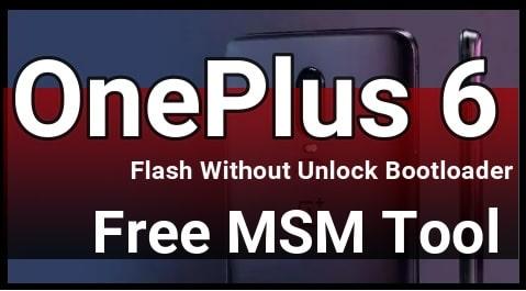 OnePlus 6 Flash Tool