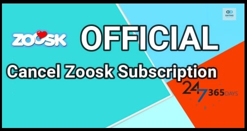 Cancel Zoosk Subscription