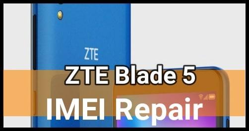 ZTE Blade A5 IMEI Repair