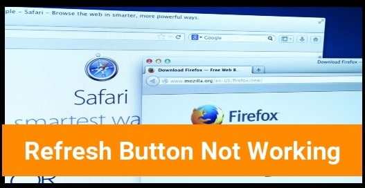 Browser Refresh Button is Not Working