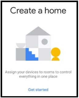 get started google home