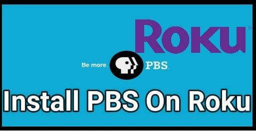Watch PBS On ROKU
