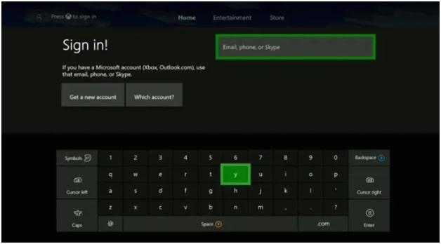 xbox reset password