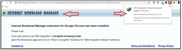activate idm integration module