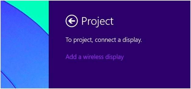 add a wireless display