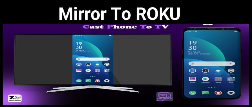 mirror android to roku tv