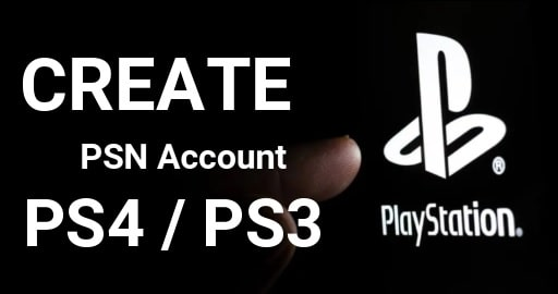 Create PlayStation Network Account