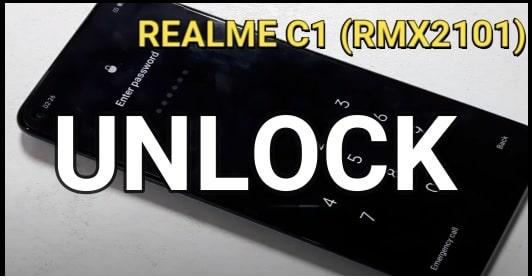 Hard Reset Realme C17 RMX2101 Remove Pin Password Unlock