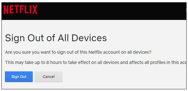 How To Kick Somebody Out of your Netflix Account without changing password