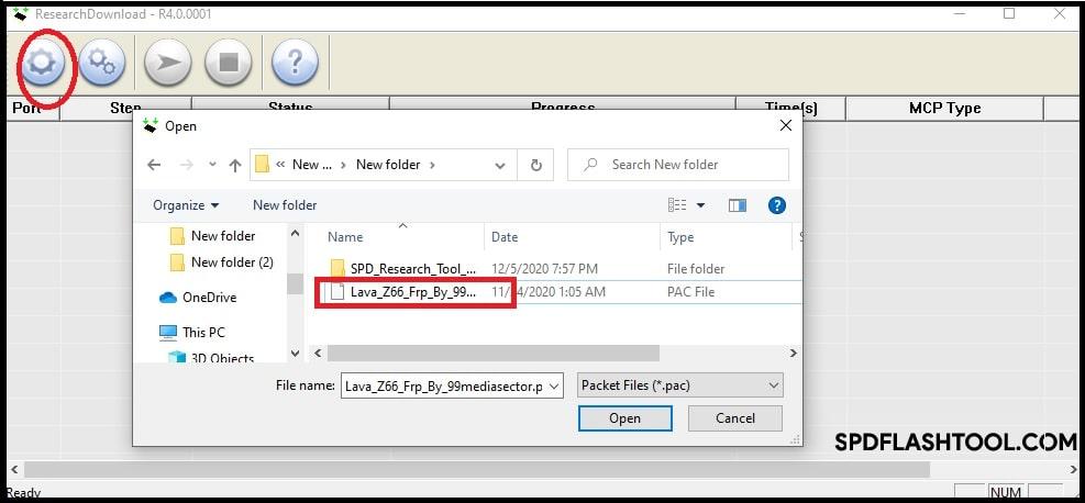 Lava z66 frp unlock tool