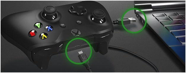 Sync Xbox Controller to console