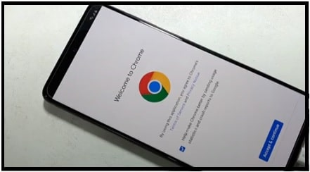 google screen on frp locked mobile