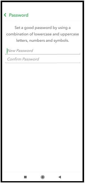 ew password for Snapchat account