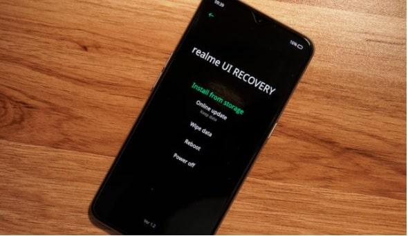 realme recovery mode