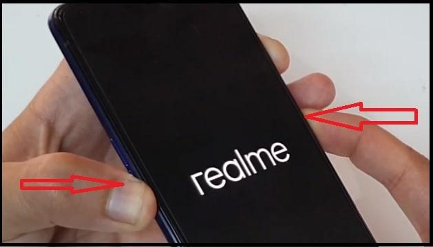 realme x2 pro recovery mode