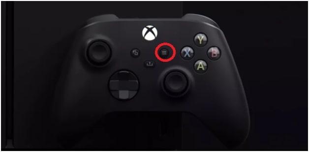 xbox menu button