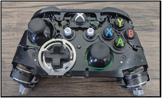 xbox one face plate removing