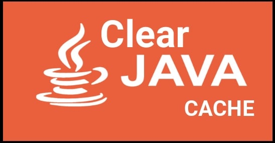 Clear Java Cache Windows 10 Command Line