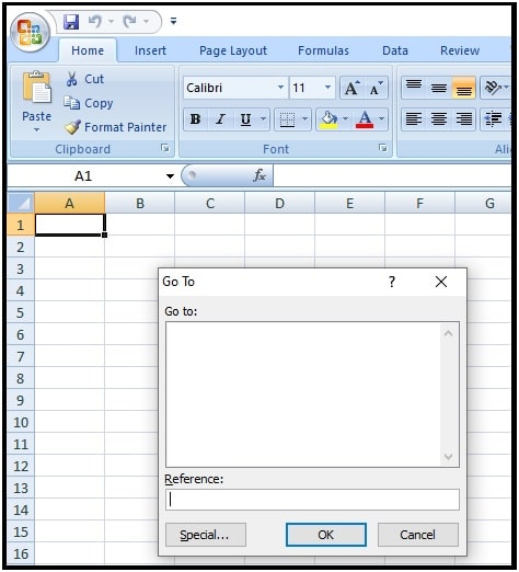 Clear Shapes ms excel sheet