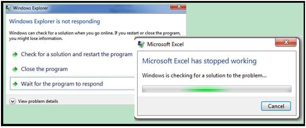 Fix Excel Not Responding