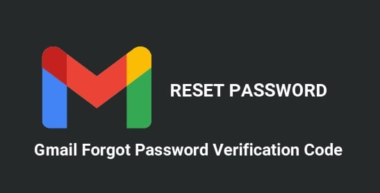 Gmail Forgot Password Verification Code