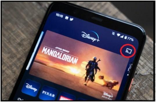 Cast Disney Plus to Vizio Smart TV