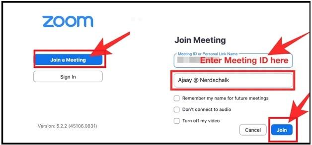 login to zoom via desktop client