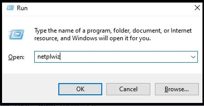 windows 10 netplwiz command
