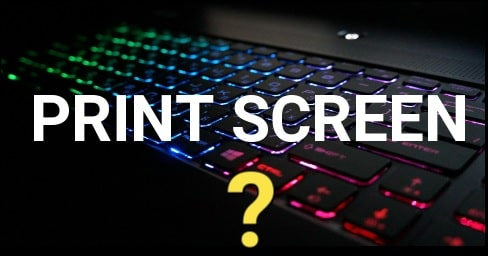 How to print screen windows 10