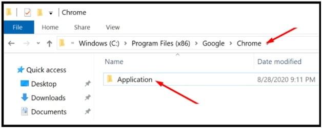 Rename Chrome Application to resolve status_invalid_image_hash error