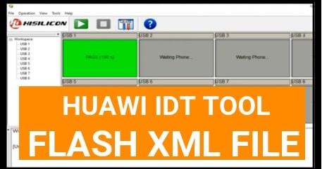 Huawei Flash Tool IDT