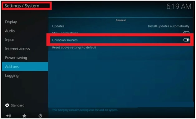 Enable Unknown Source In Samsung TV Manually