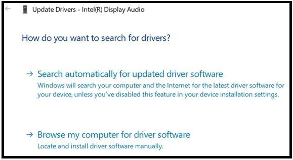 automatic sound driver update