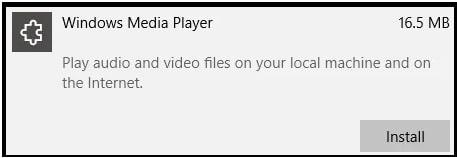 Windows Media Player on Windows