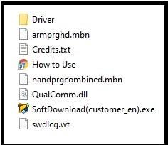 softdownload tool setup