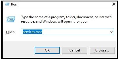 windows 10 services.msc command