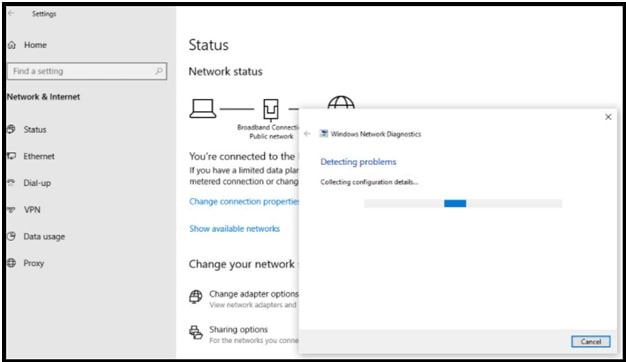 windows Network diagnoses fix laptop keeps disconnecting from wifi